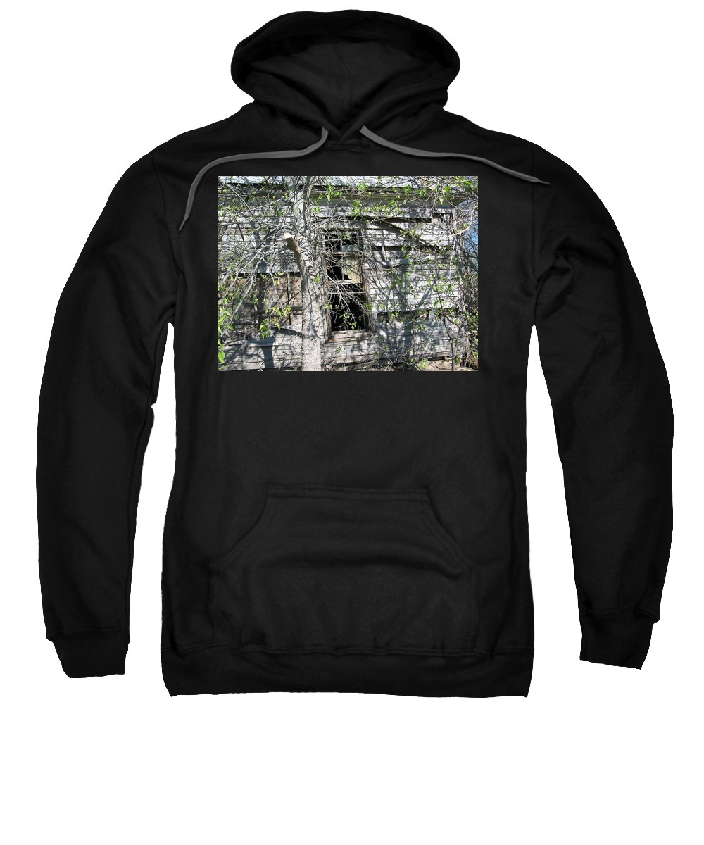 Sweatshirt featuring the photograph Forgotten 11 by Amy Hosp