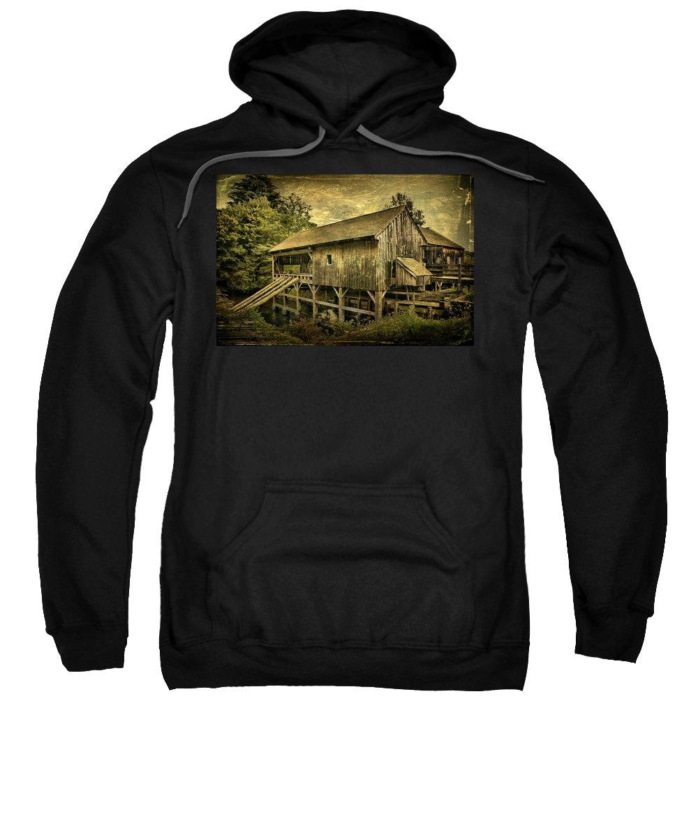 Mill Sweatshirt featuring the photograph Forgotten Yesterdays by Evelina Kremsdorf