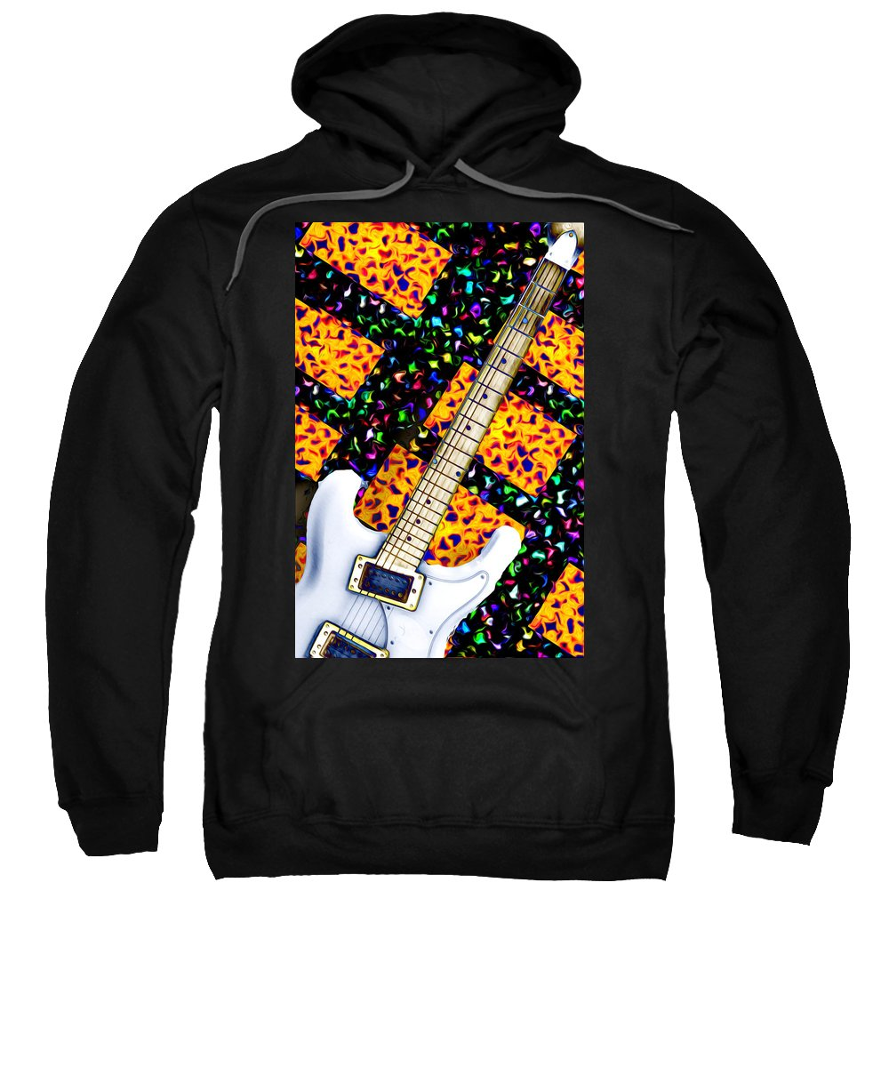 Guitar Sweatshirt featuring the photograph Frets by Bill Cannon