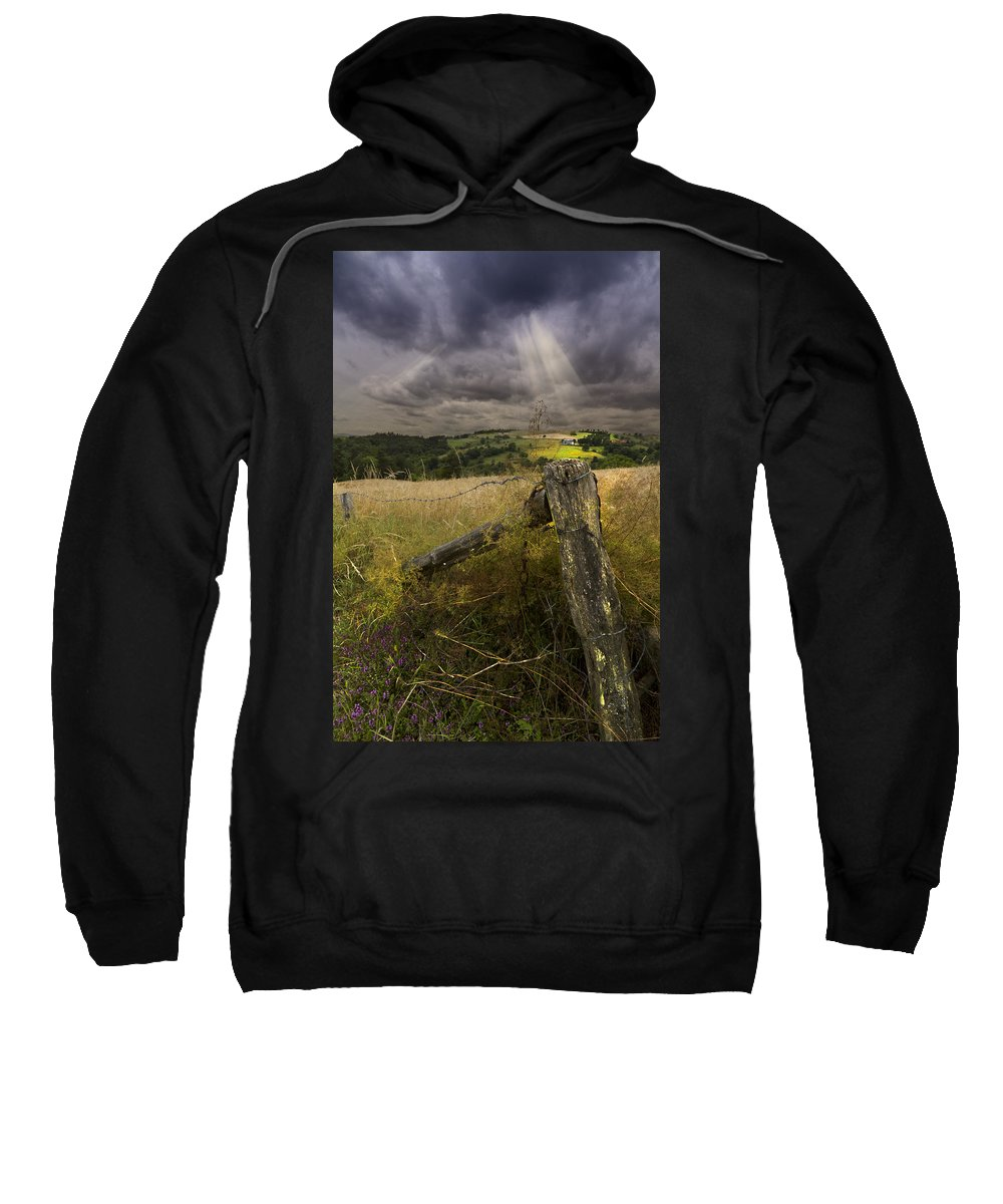 American Sweatshirt featuring the photograph Gate To Heaven by Debra and Dave Vanderlaan