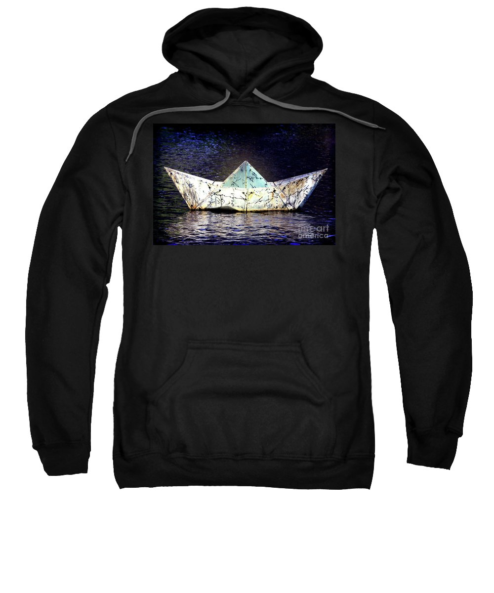 Boat Sweatshirt featuring the photograph Glass Bottomed Boat by Stephen Mitchell