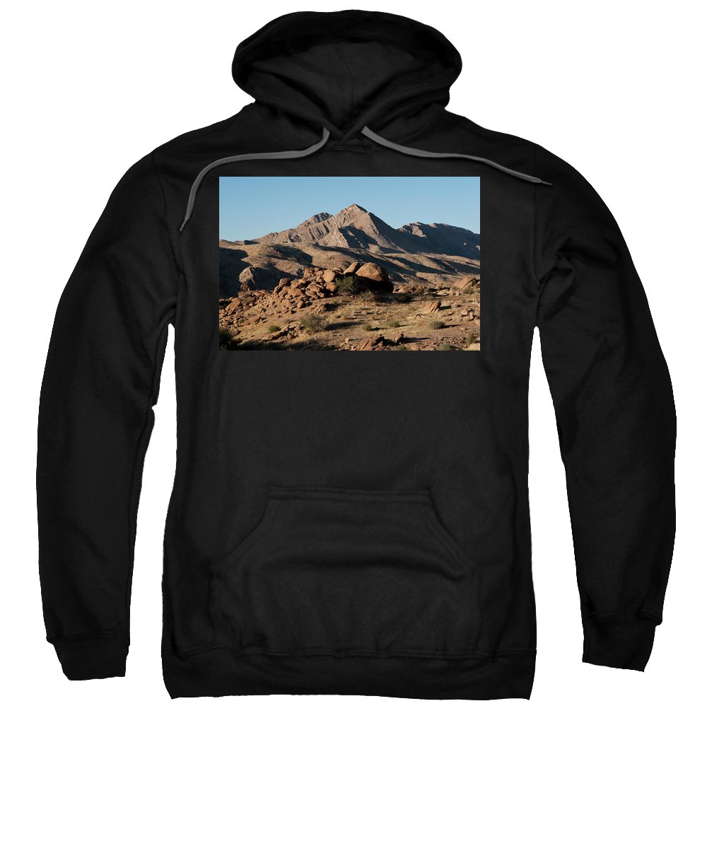 Gold Butte Region Sweatshirt featuring the photograph Golden Gold Butte by Lorraine Devon Wilke
