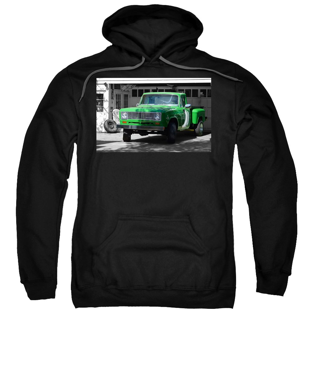 Ancient Sweatshirt featuring the photograph Green And Gray by William Bartholomew