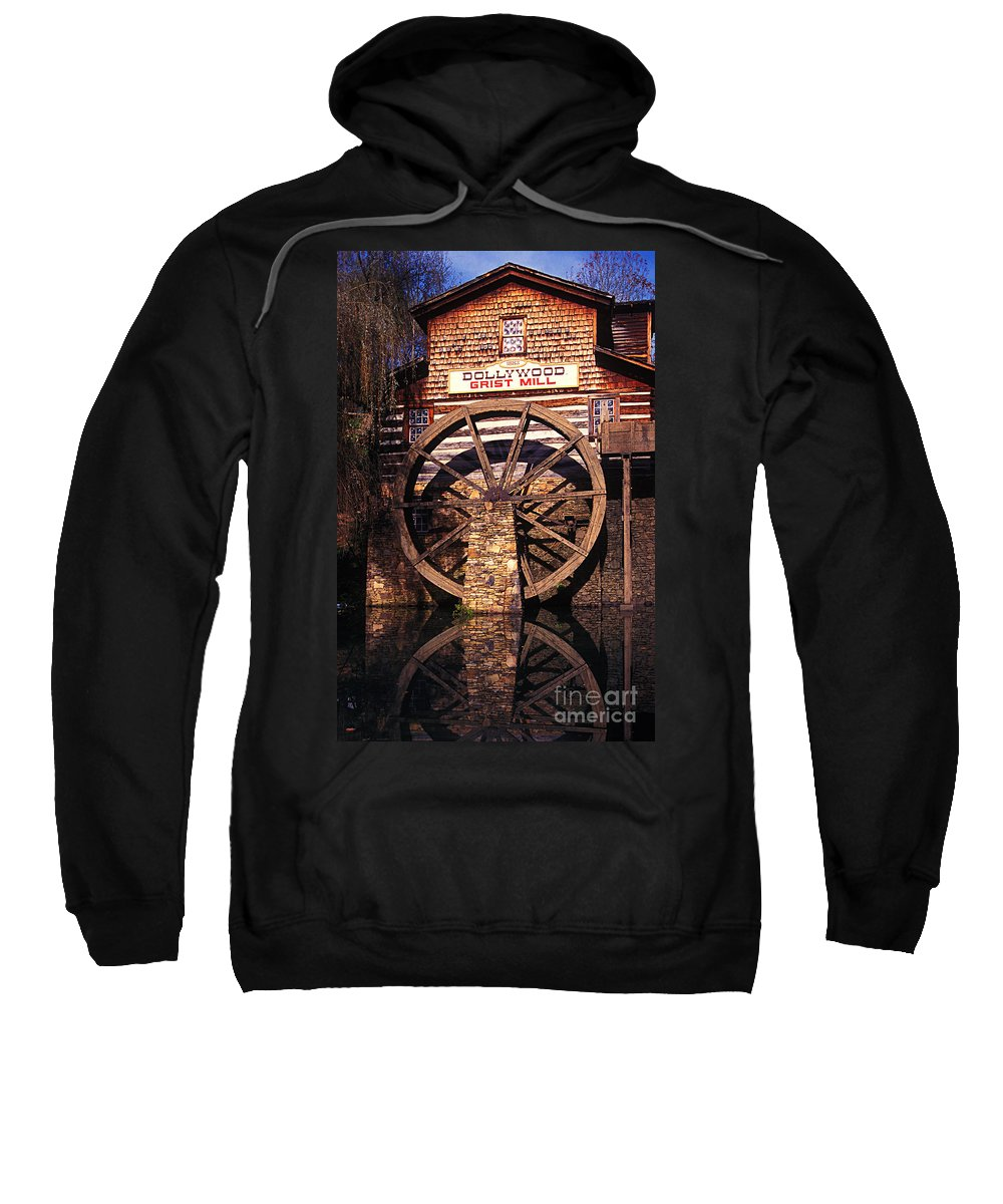 Grist Mill Sweatshirt featuring the photograph Grist Mill In The Smokies by Paul W Faust - Impressions of Light
