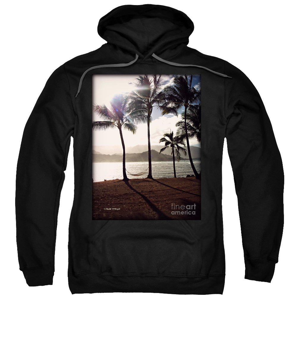 Hammock Sweatshirt featuring the photograph Hammock by Paulette B Wright
