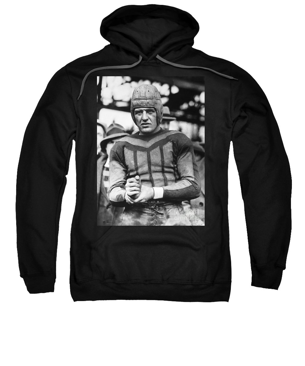 20th Century Sweatshirt featuring the photograph Harold (red) Grange by Granger