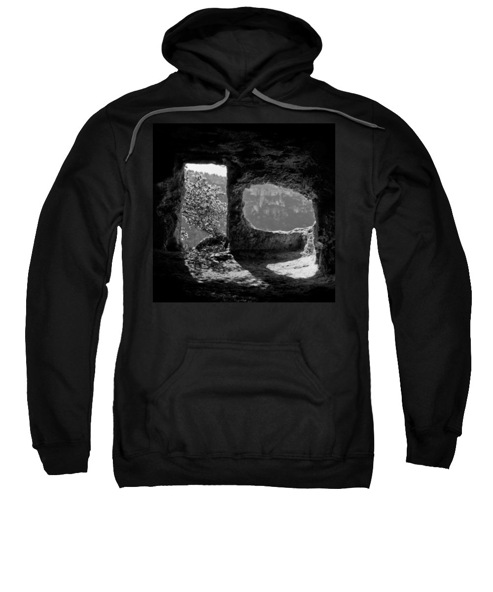 Mountain Sweatshirt featuring the photograph Hermitage by Michele Mule'