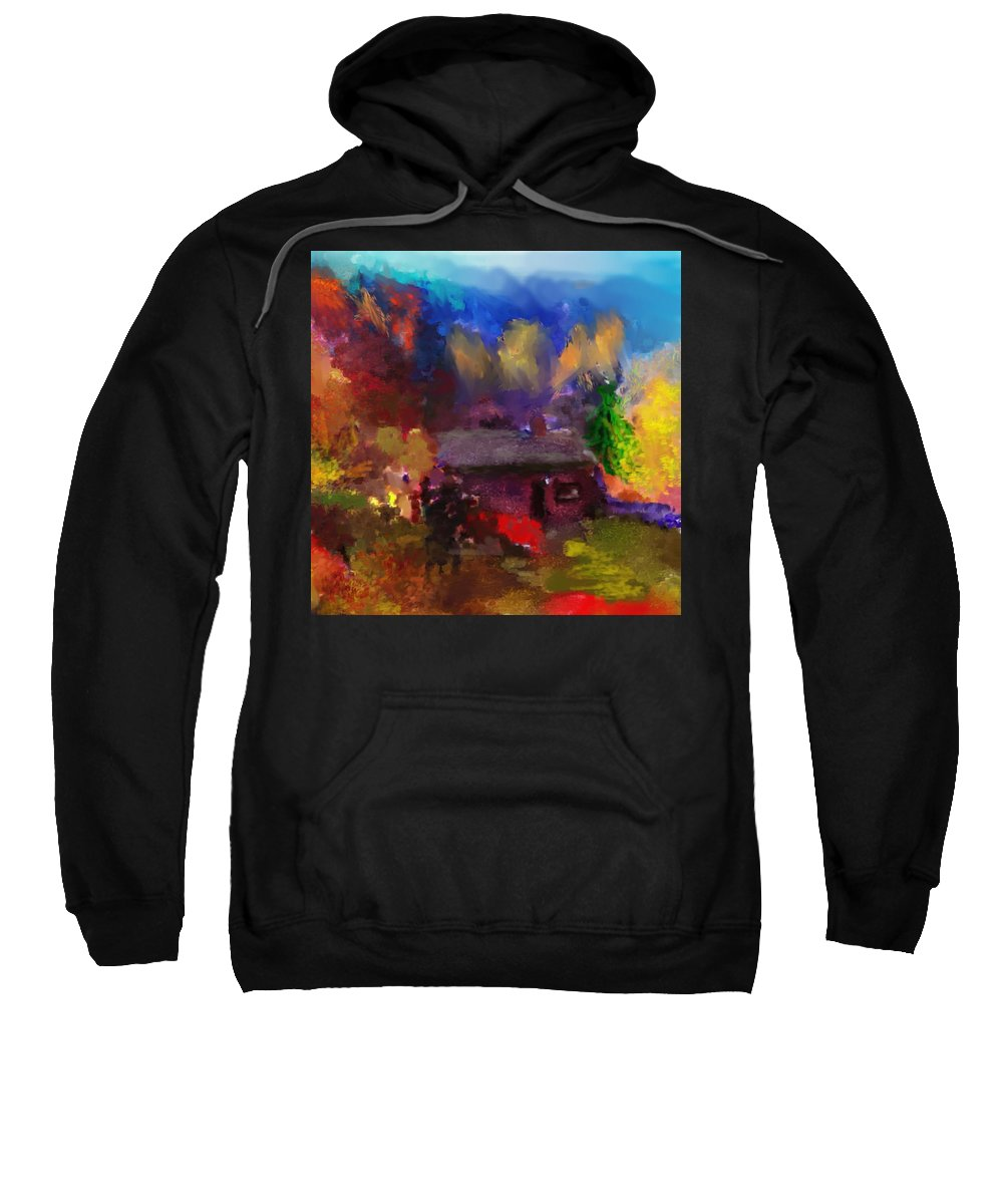 Fine Art Sweatshirt featuring the photograph Homestead by David Lane