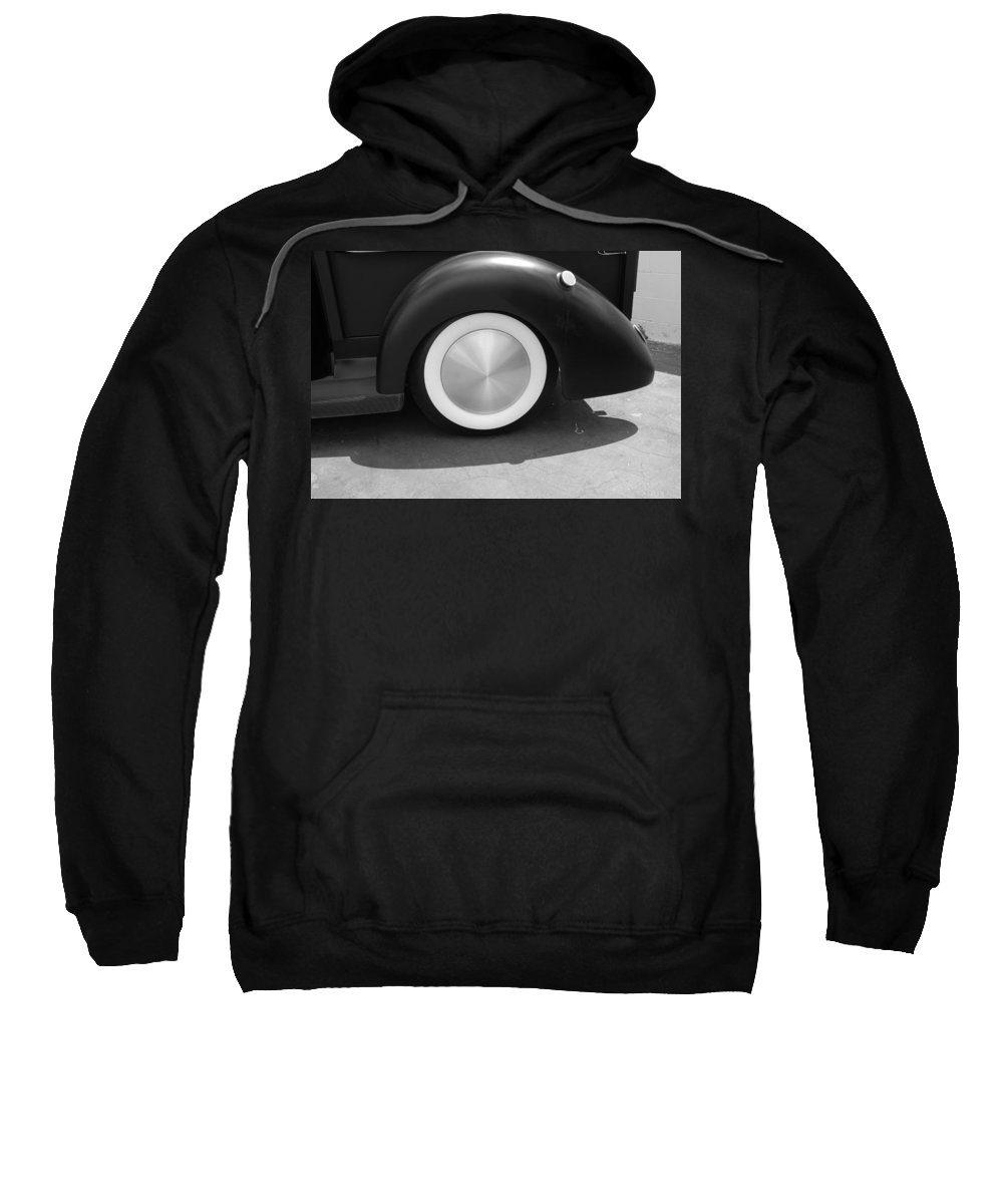 Hot Rod Sweatshirt featuring the photograph Hot Rod Wheel by Rob Hans