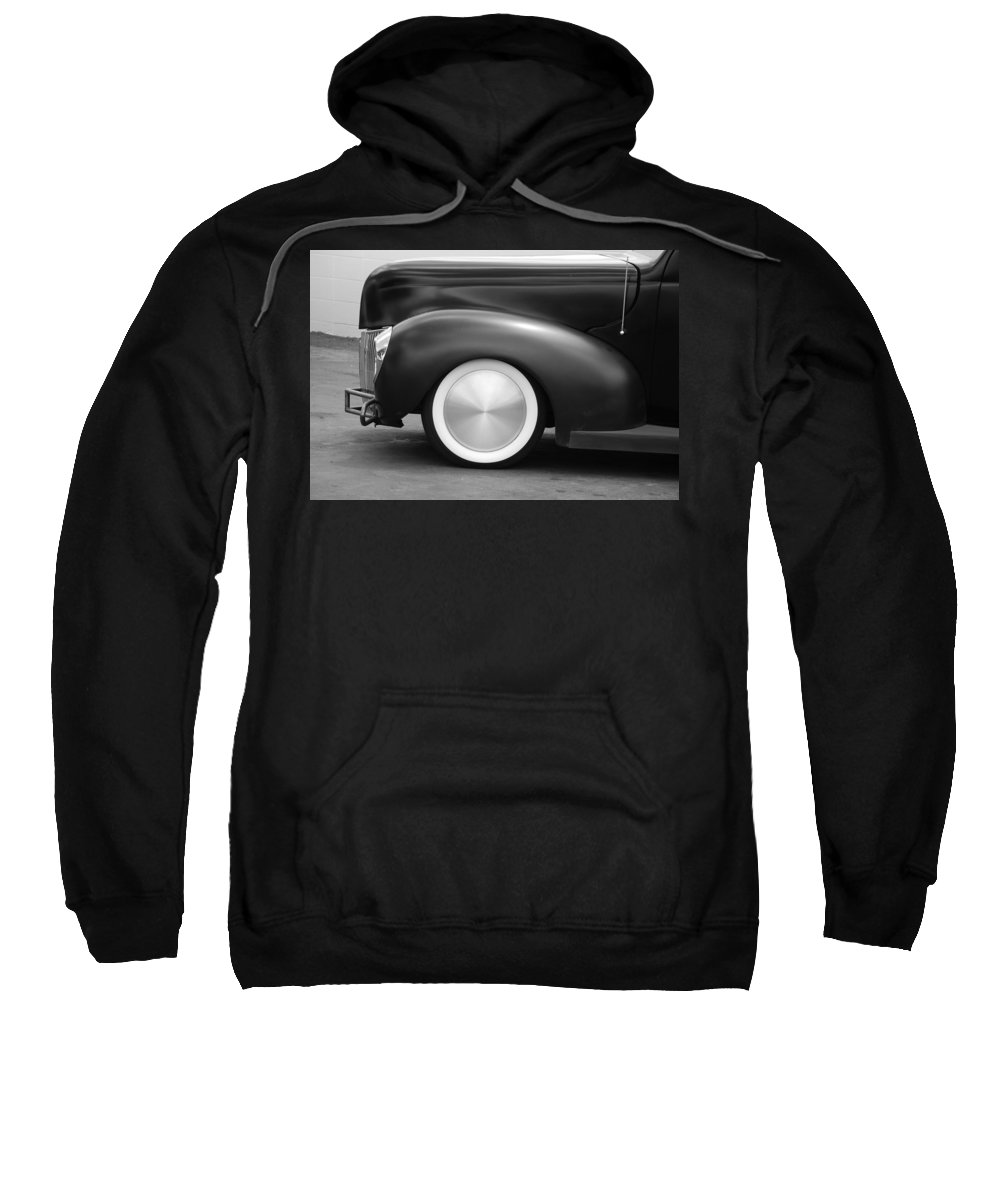 Hot Rod Sweatshirt featuring the photograph Hot Rod Wheels by Rob Hans