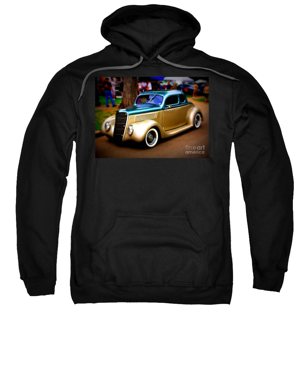 Car Sweatshirt featuring the photograph Hot Two Tone by Perry Webster