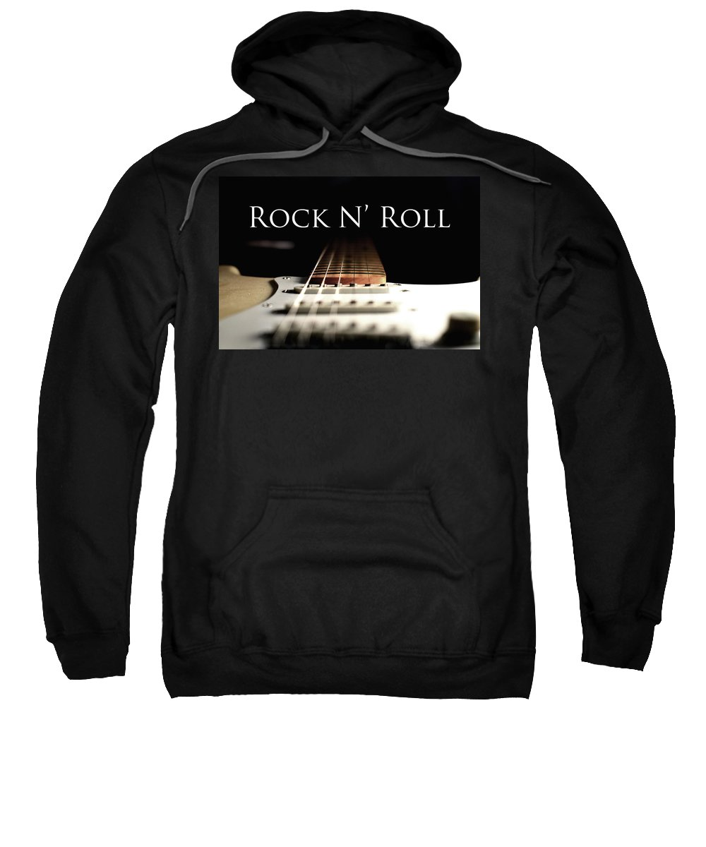 Guitar Sweatshirt featuring the photograph I Know....but...i Like It by La Dolce Vita