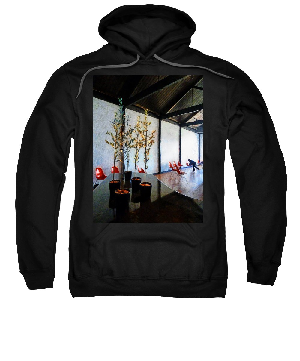 Climbing Sweatshirt featuring the photograph I Prefer Climbing Trees by Steve Taylor