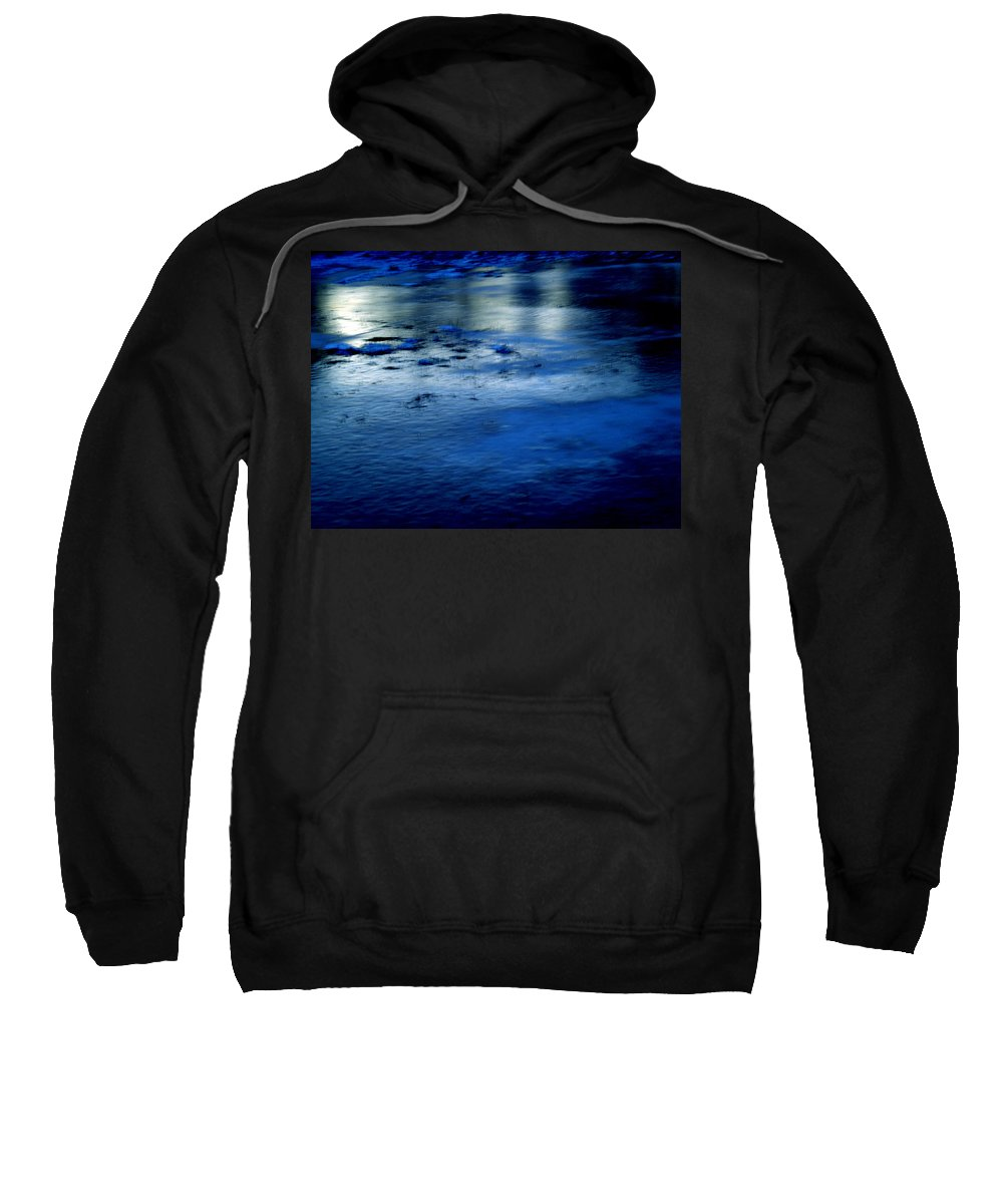 Colette Sweatshirt featuring the photograph Ice Frost And Snow by Colette V Hera Guggenheim