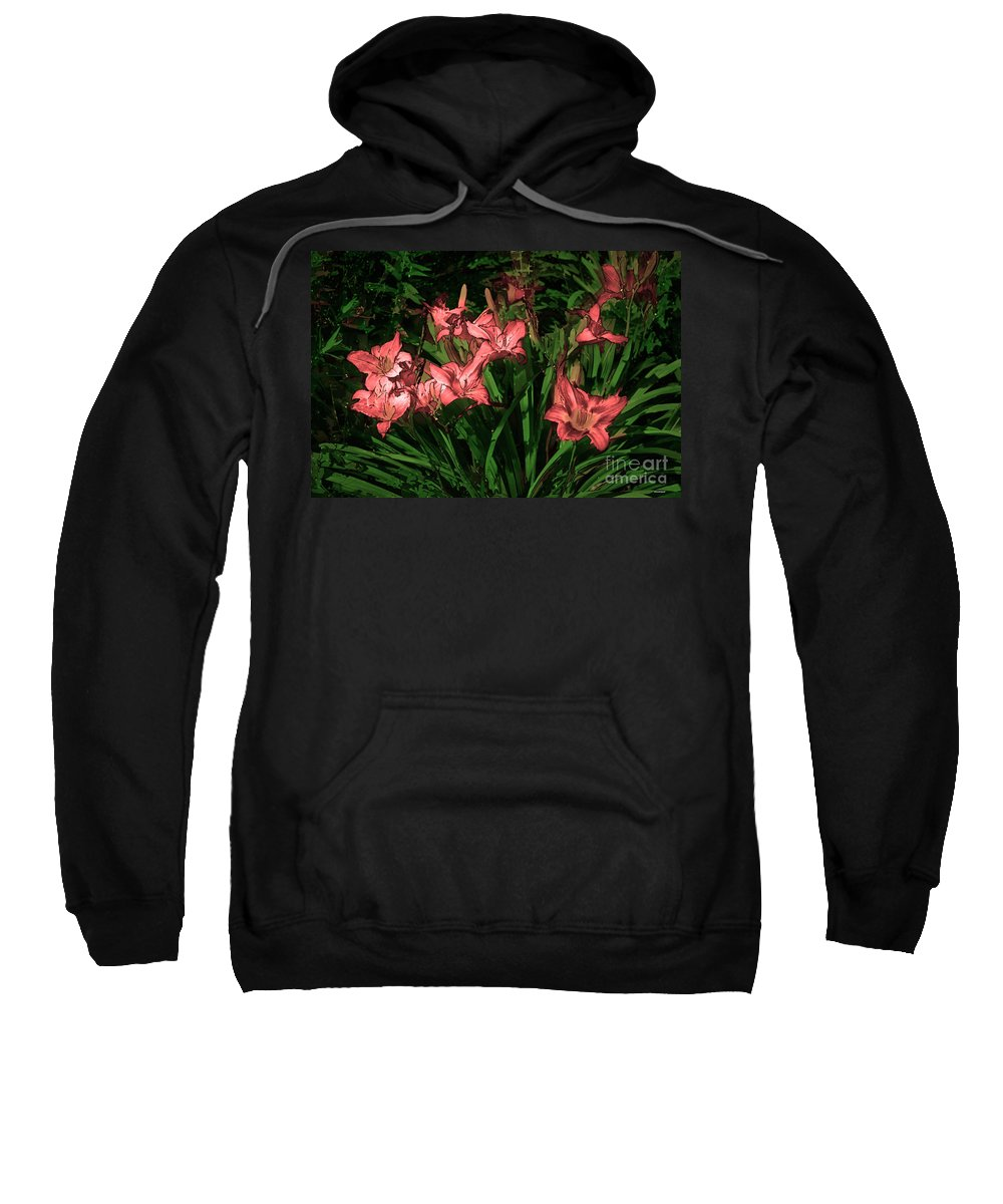 Artistic Photography Sweatshirt featuring the photograph In The Pink by Tom Prendergast
