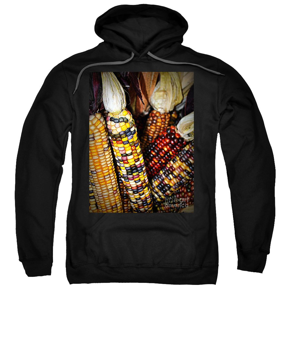 Indian Sweatshirt featuring the photograph Indian Corn 2 by Kevin Fortier