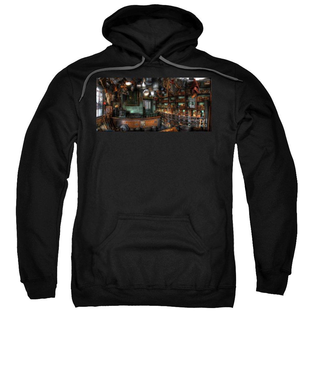 Art Sweatshirt featuring the photograph Ironmonger's Shop by Yhun Suarez