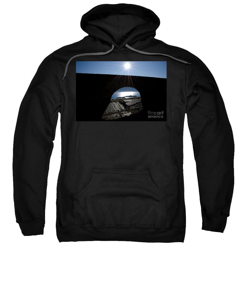 Islands Sweatshirt featuring the photograph Islands Watched From An Arch by Mats Silvan