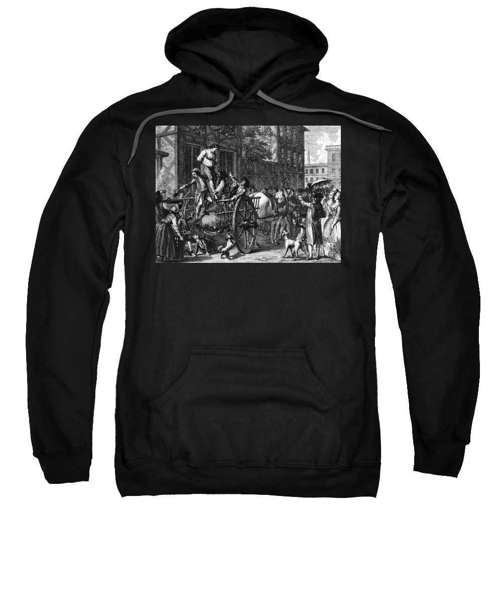 1774 Sweatshirt featuring the photograph John Malcom (d. 1788) by Granger