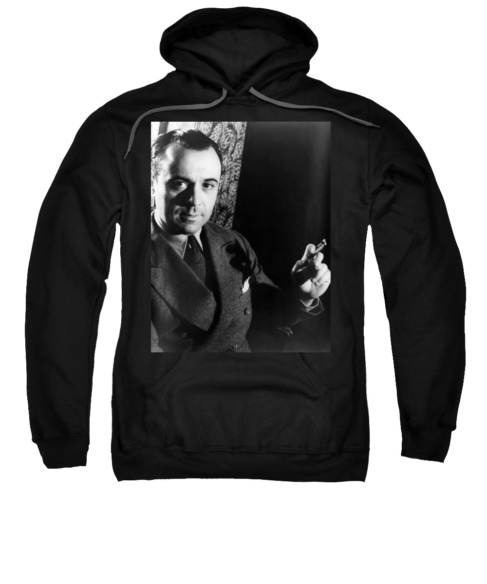 1933 Sweatshirt featuring the photograph Jose Iturbi 1895-1980 by Granger