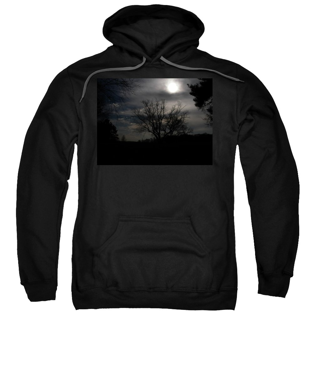 Cloud Sweatshirt featuring the photograph Know Farm 2150 by Guy Whiteley