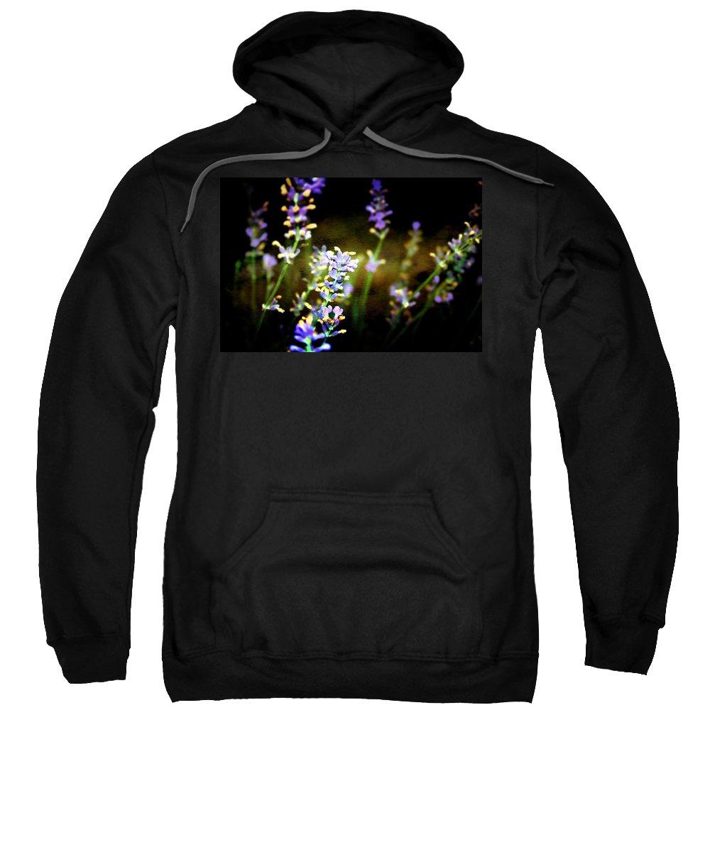 Lavender Sweatshirt featuring the photograph Lavender Dream by Ellen Heaverlo