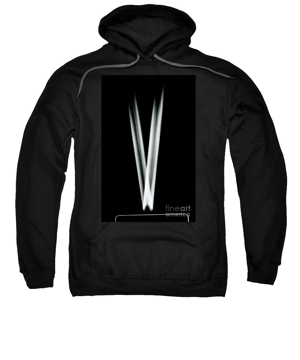 Reflection Sweatshirt featuring the photograph Law Of Reflection by Berenice Abbott