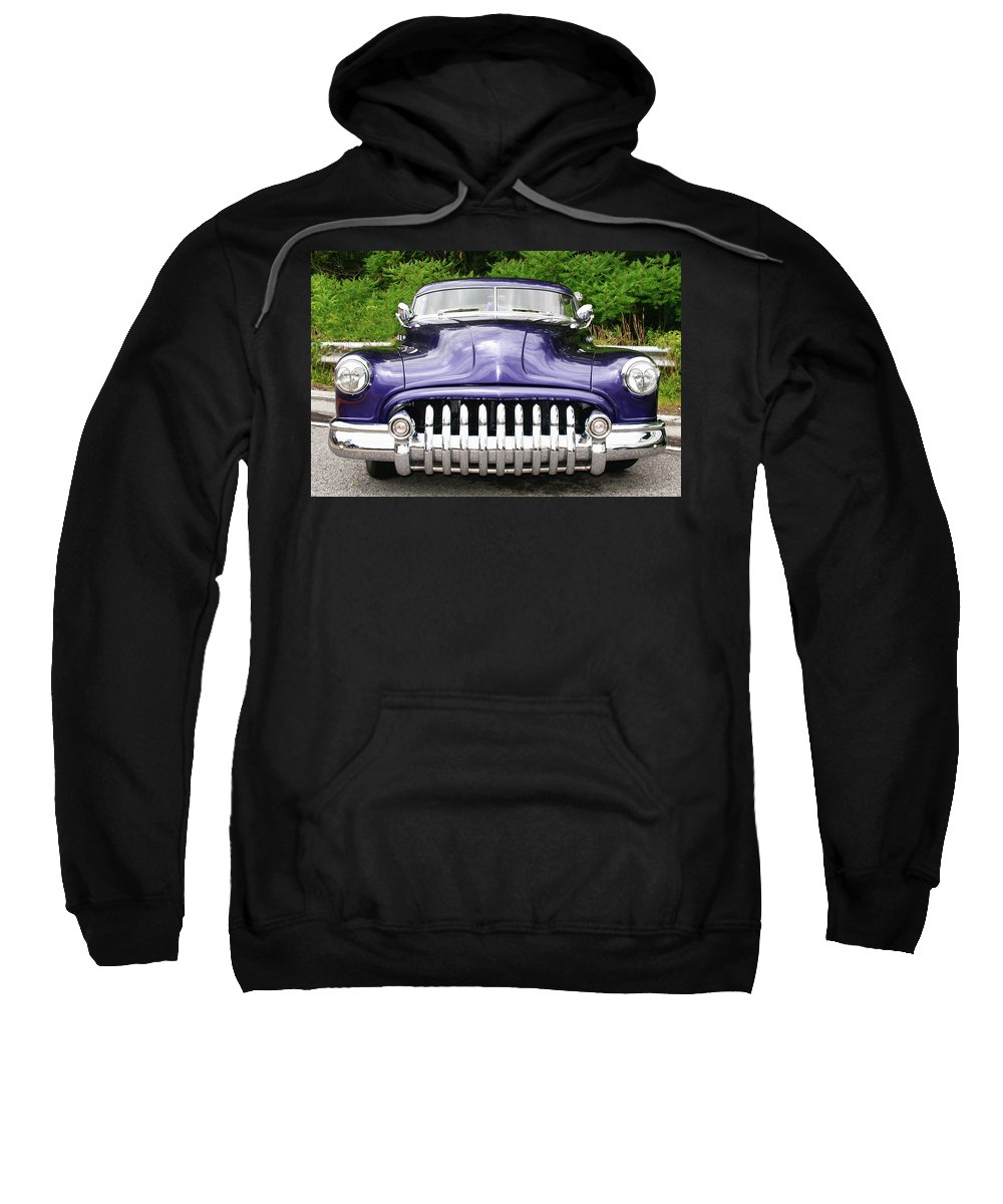 Automobile Sweatshirt featuring the photograph Lead Sled  7768a by Guy Whiteley