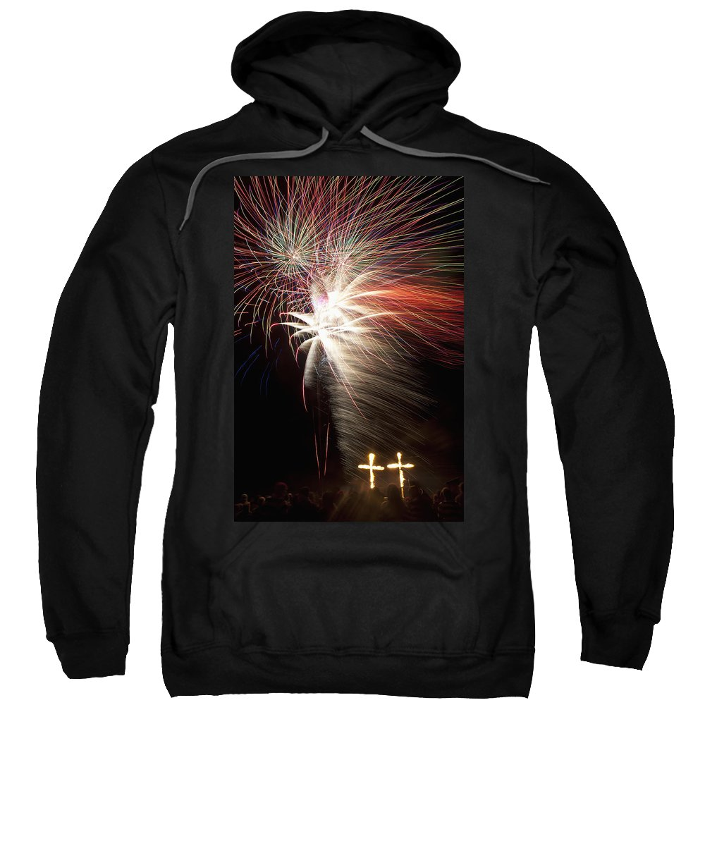 Colour Image Sweatshirt featuring the photograph Lewes, East Sussex by Axiom Photographic