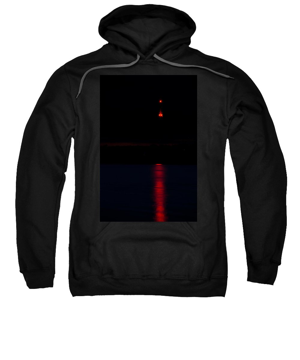 Lights Sweatshirt featuring the photograph Lights In The Night by Michael Goyberg