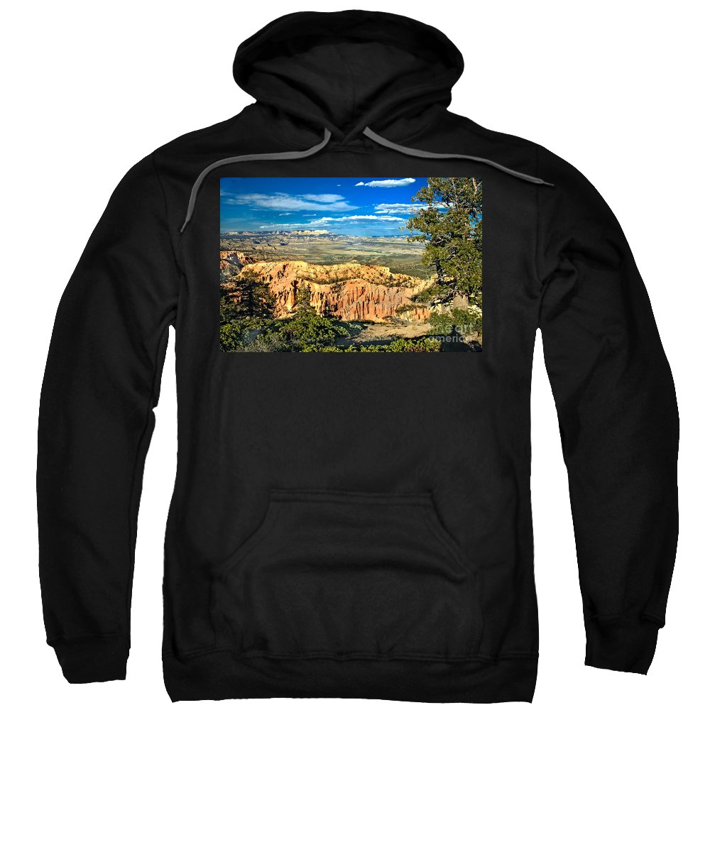 Rock Formations Sweatshirt featuring the photograph Looking Beyond by Robert Bales