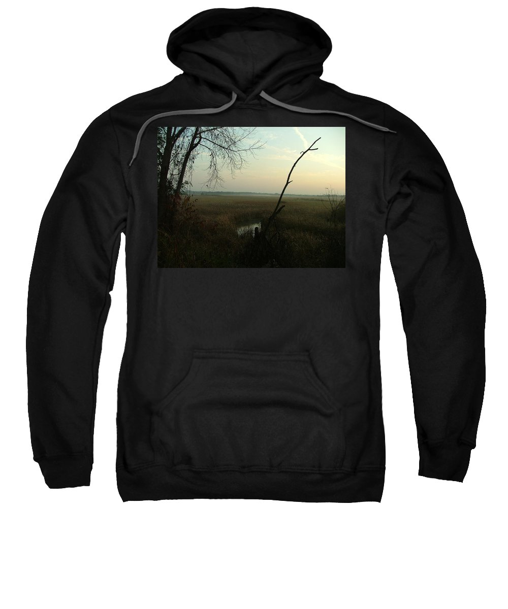 Landscape Sweatshirt featuring the photograph Lost In Time by Dennis Pintoski
