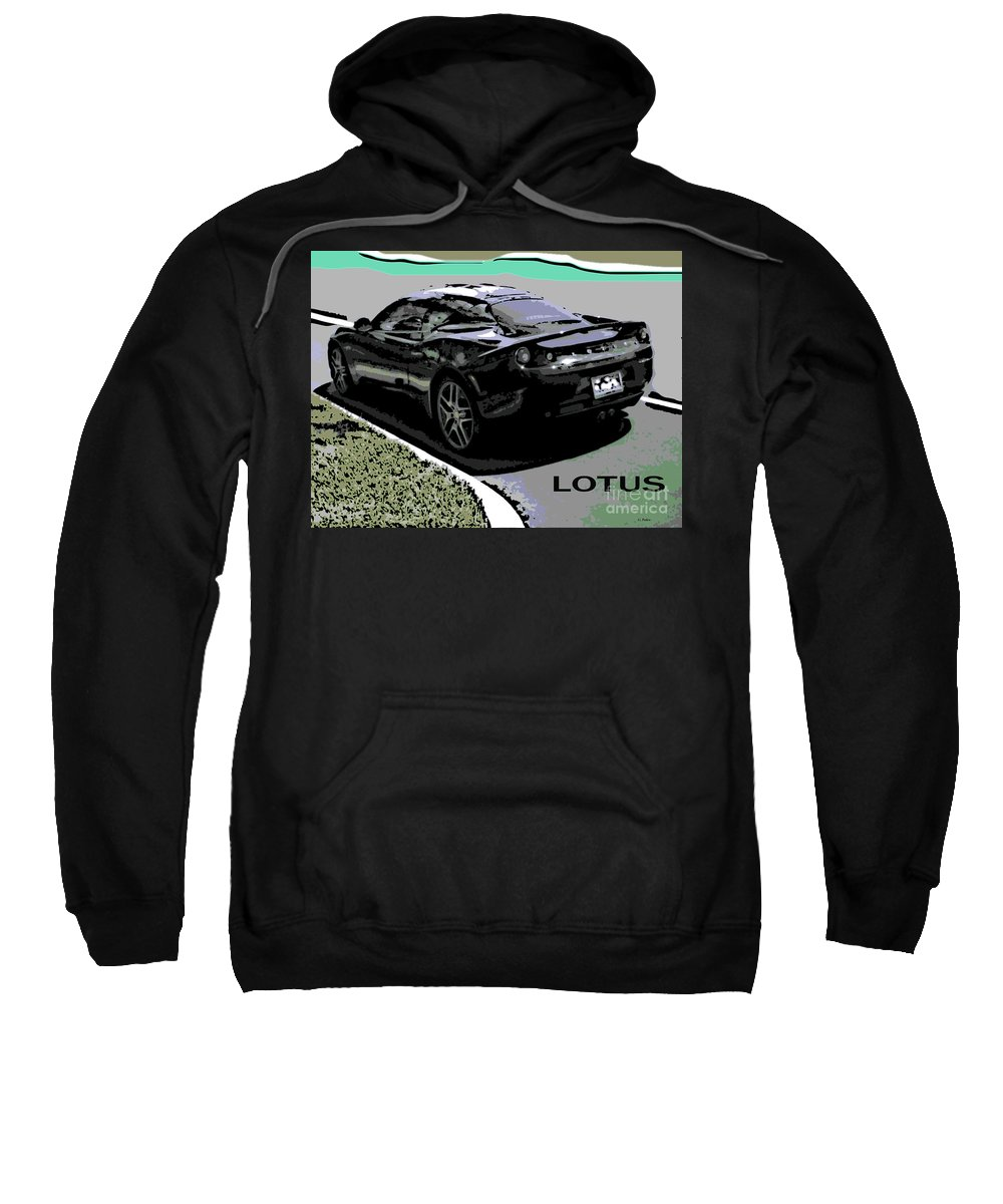 Lotus Sweatshirt featuring the photograph Lotus Position by George Pedro