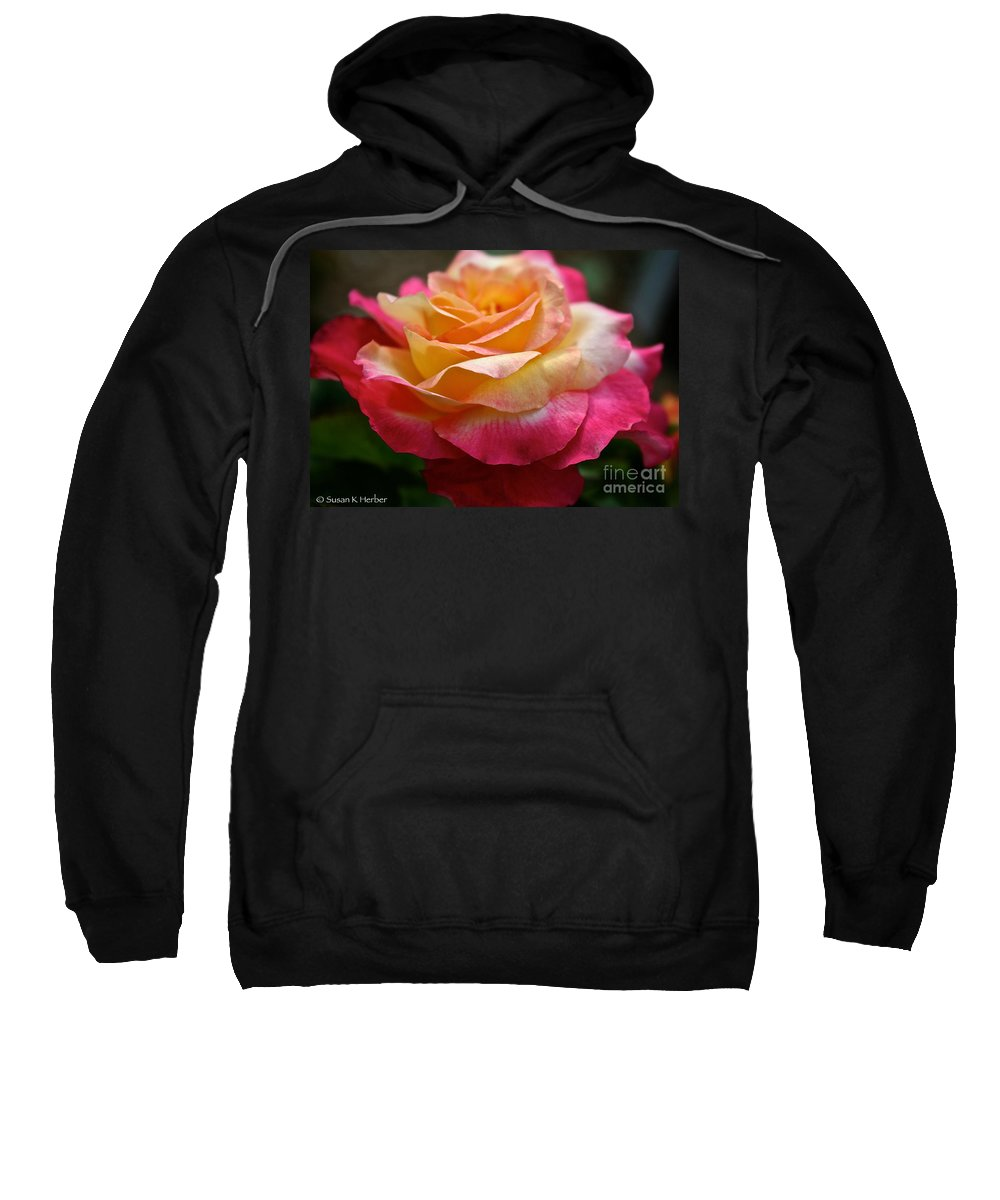 Plant Sweatshirt featuring the photograph Love And Peace by Susan Herber