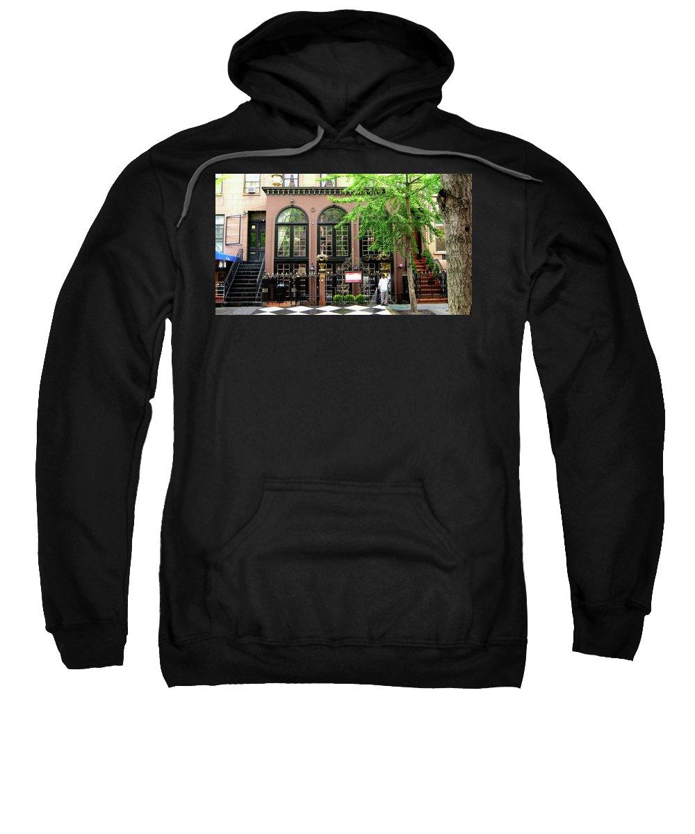 Manhattan Sweatshirt featuring the photograph Manhattan Morning by Lorraine Devon Wilke