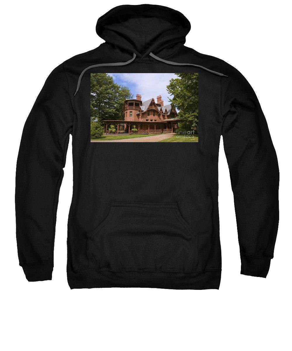 Mark Twain Sweatshirt featuring the photograph Mark Twain Home by Tim Mulina