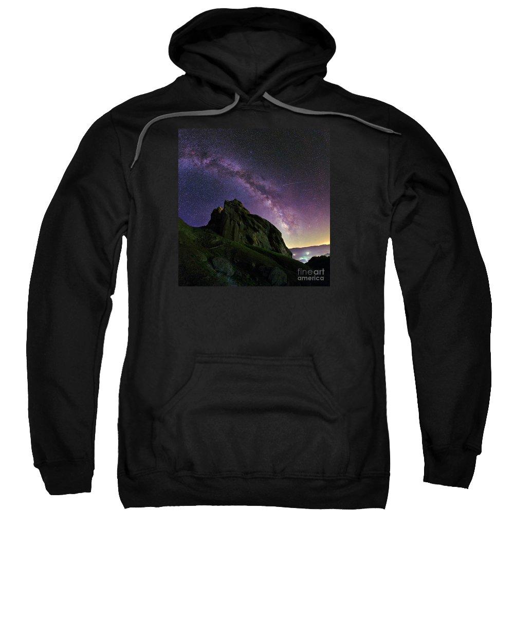 Astronomy Sweatshirt featuring the photograph Milky Way by Babak Tafreshi