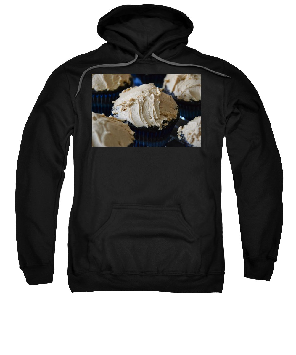 Cupcake Sweatshirt featuring the photograph Mini Mountain Of Mocha by Bonnie Myszka