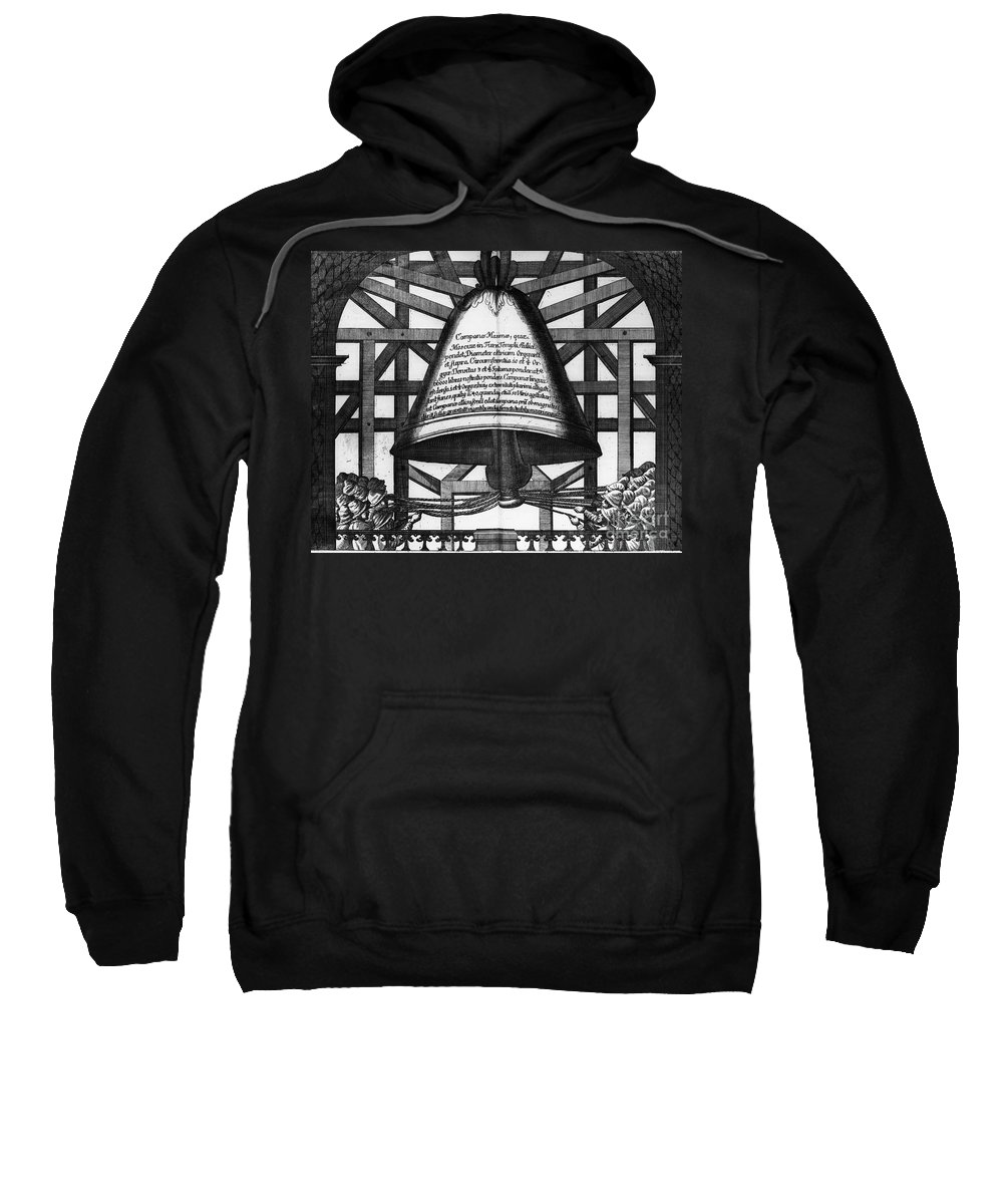 1698 Sweatshirt featuring the photograph Moscow: Bell Tower, 1698 by Granger