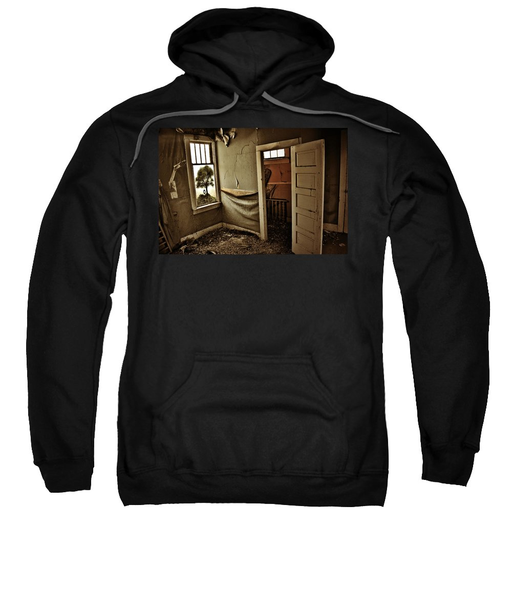 Street Photographer Sweatshirt featuring the photograph Nelly Olsens Tree by The Artist Project