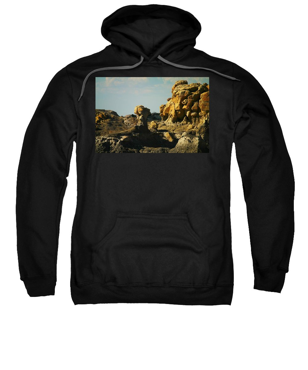 Rocks Sweatshirt featuring the photograph New Mexico Red Rock by Jeff Swan