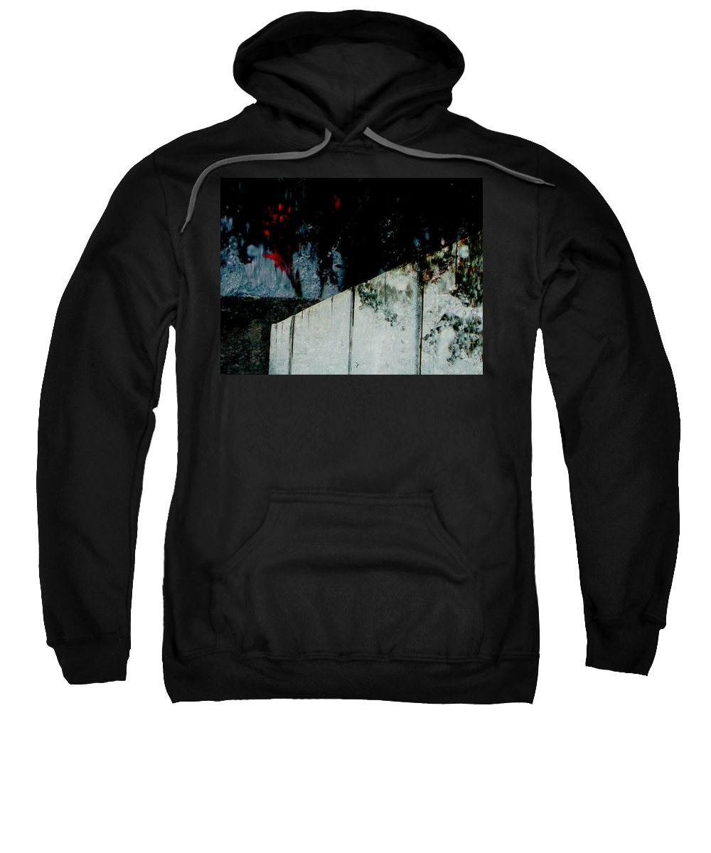 Abstract Sweatshirt featuring the photograph Night Moods by Lenore Senior