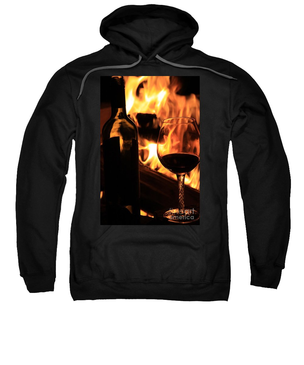 Fire Sweatshirt featuring the photograph Night Out by Dana Kern