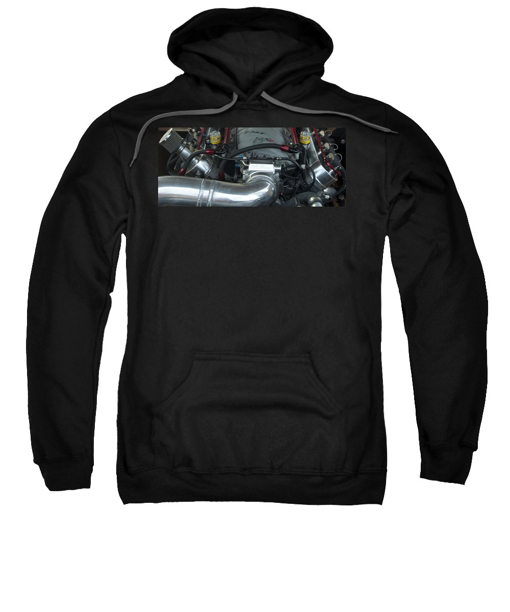 Photography Sweatshirt featuring the photograph Nitrous Fuel by Steven Natanson