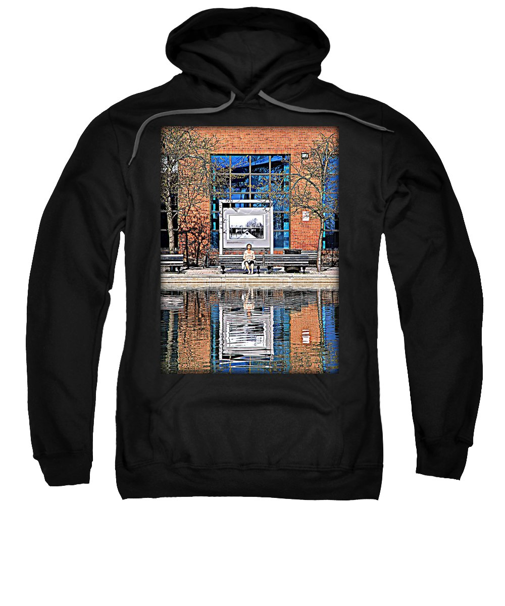 Sun Sweatshirt featuring the photograph No Title by Valentino Visentini