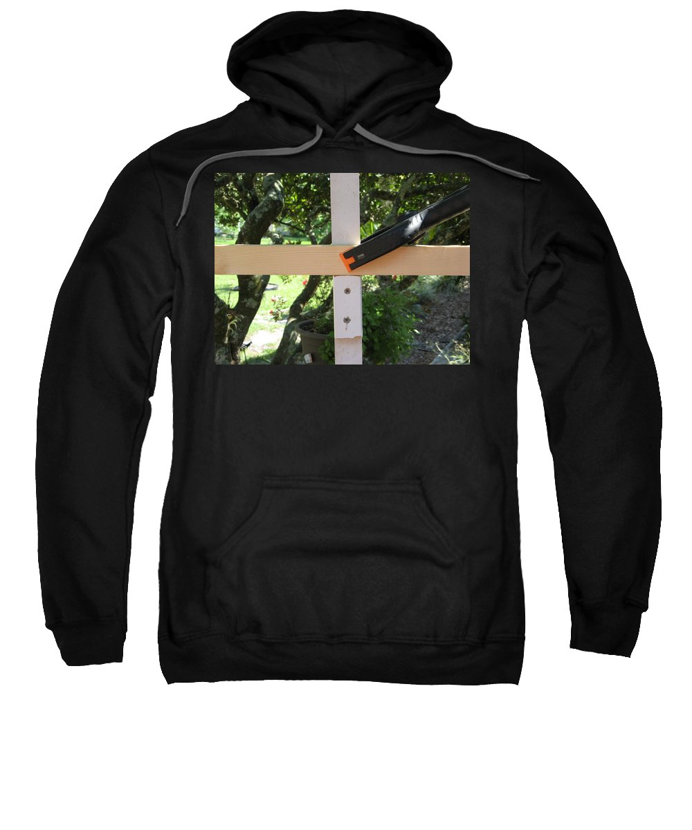 Sweatshirt featuring the photograph Number 3 by Rich Franco