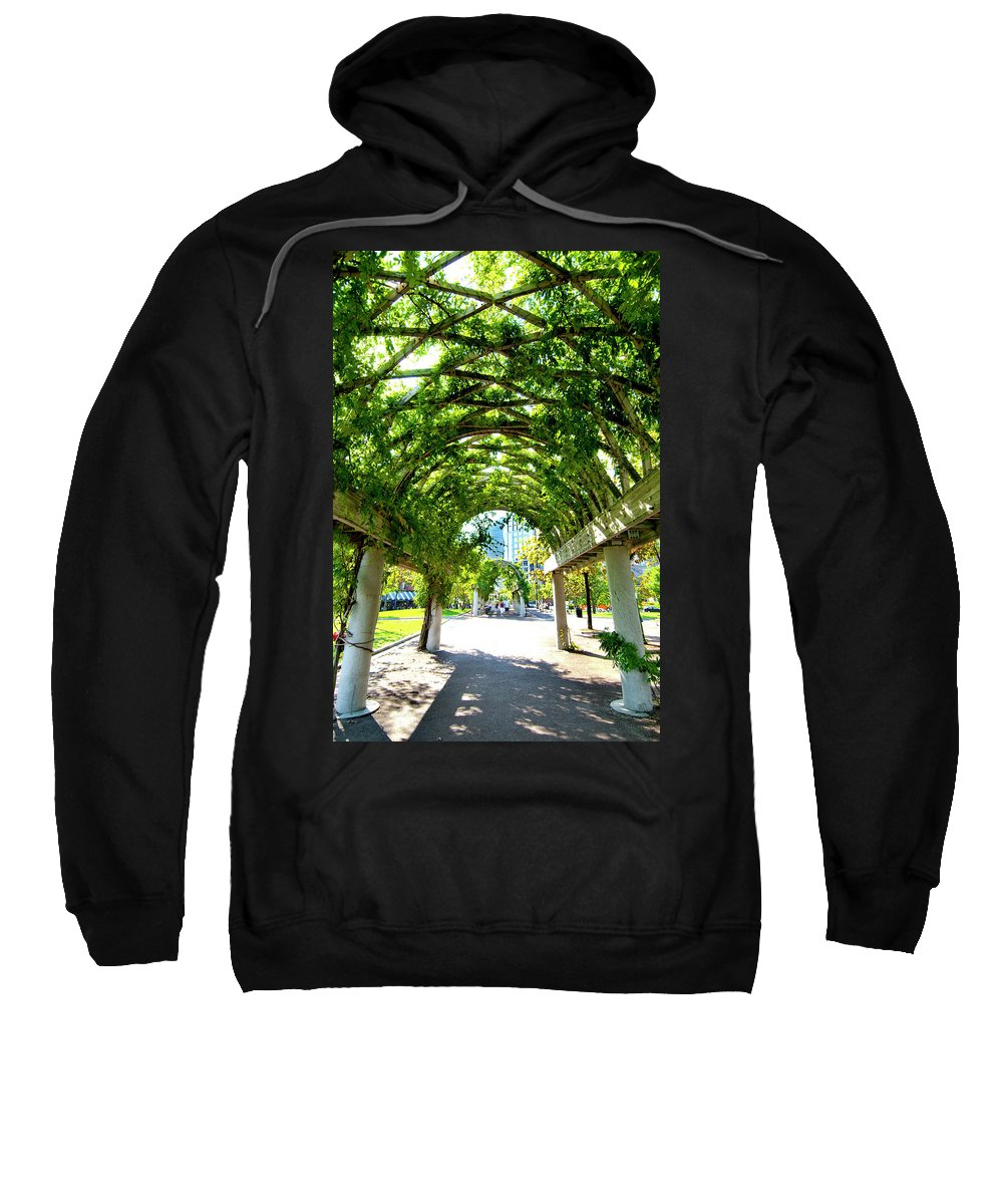 Art Sweatshirt featuring the photograph Oasis by Greg Fortier
