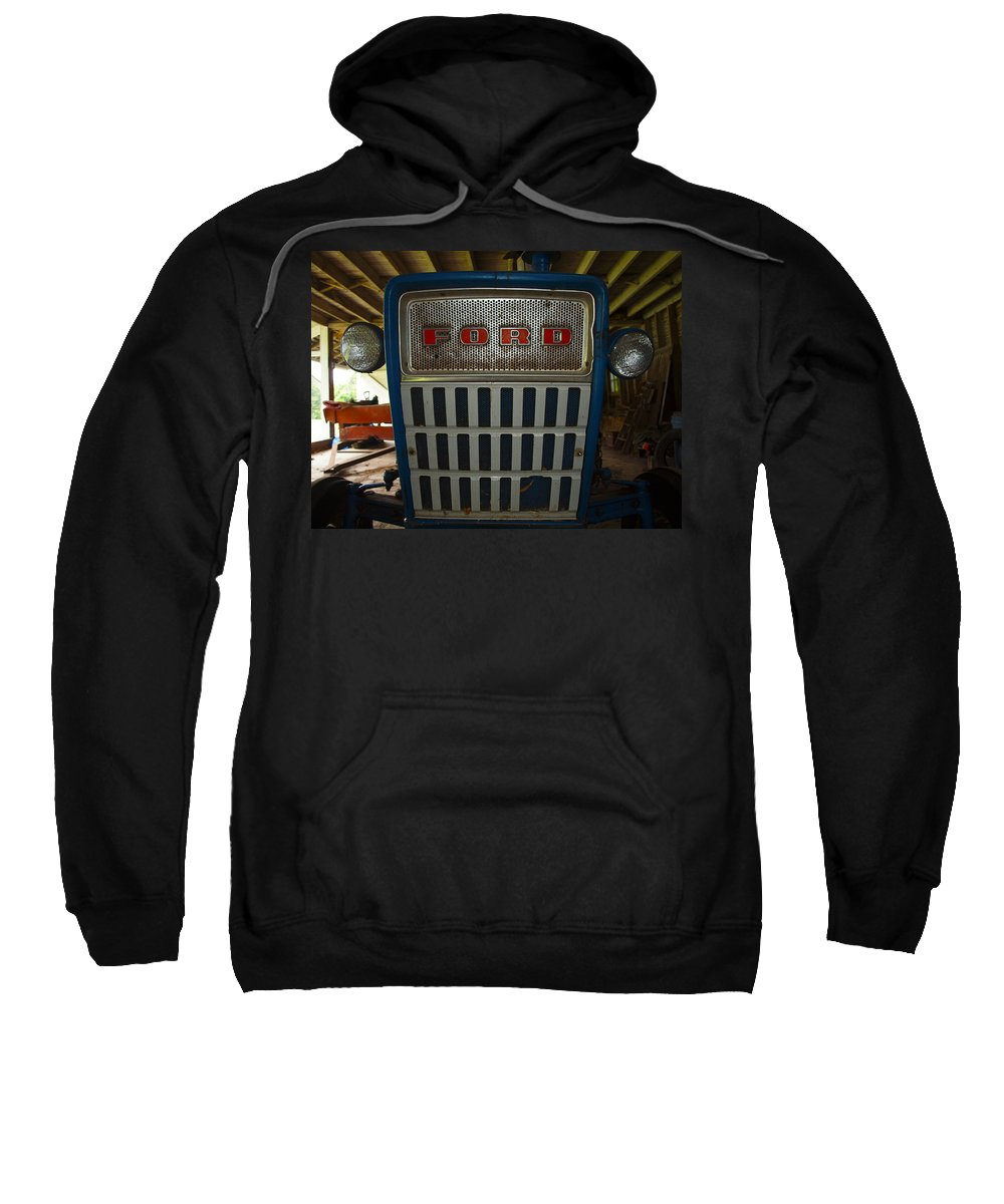 Farm Animals Sweatshirt featuring the photograph Old Ford Tractor by Robert Margetts