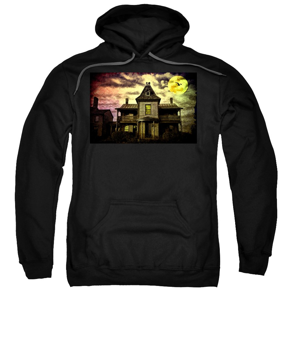 Old House At St Michael's Sweatshirt featuring the photograph Old House At St Michael's by Bill Cannon
