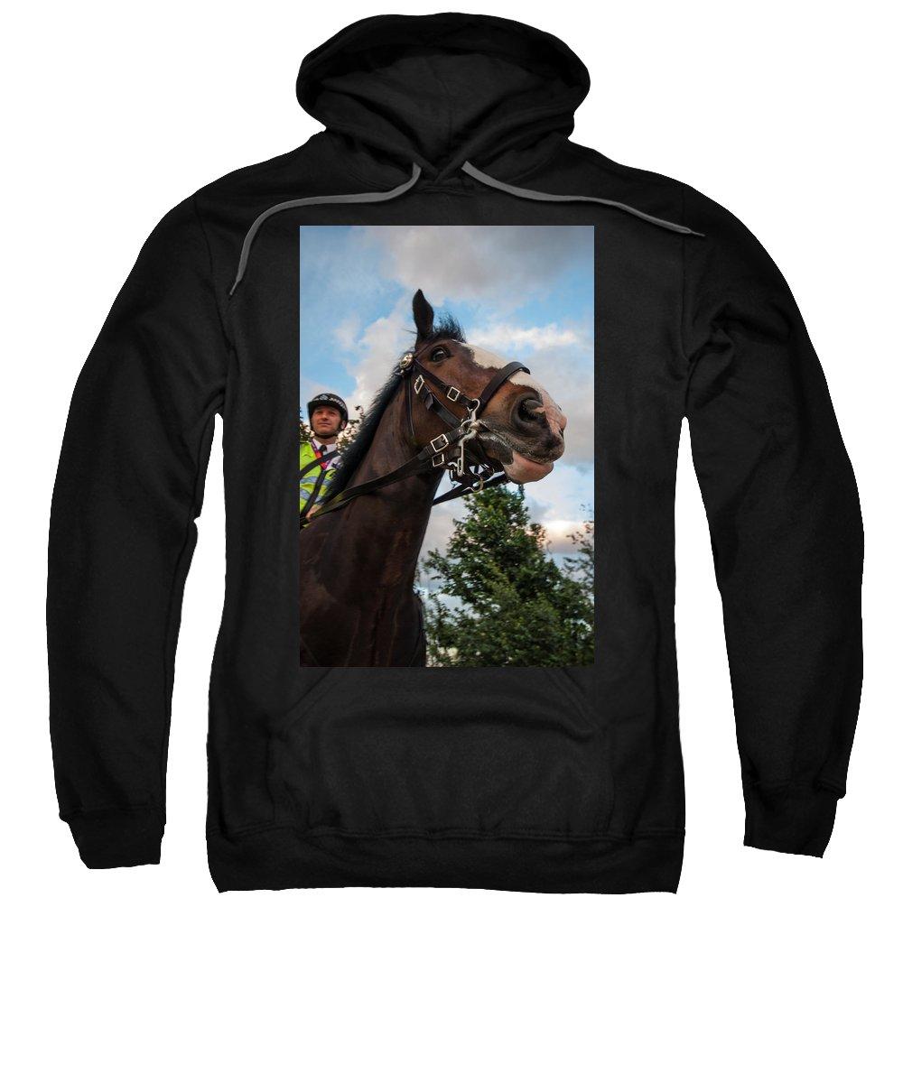 Dawn Oconnor Sweatshirt featuring the photograph Olympic Fun by Dawn OConnor